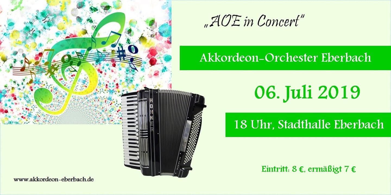 AOE Jahreskonzert 2019 Flyer 1